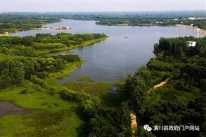 【每日话题】高空俯瞰!潢川的农村竟然这么美~你选择住农村还是住县城?
