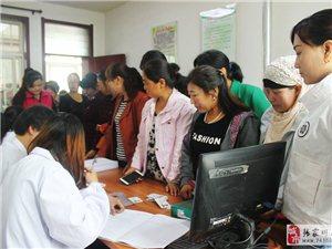 """""""两癌检查""""活动持续进行中,县妇计中心走进第三站――马关镇。"""
