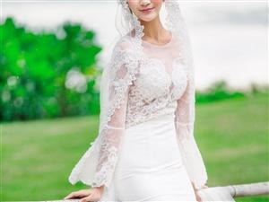 中牟七�公�^婚��z影超完美婚�照源于挑�x合�m的婚��Y服