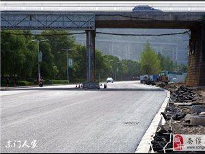 【苍溪】滨江大道西段扩宽通行了【图】