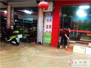 遂川志愿者协会微马队积极投入抗洪救灾工作中……