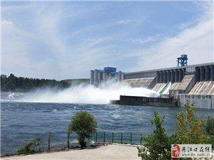 丹江口大坝迎来放水季