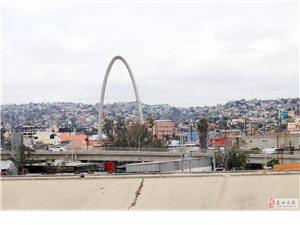 墨西哥蒂华纳与军港''世纪之吻'的'圣'地亚哥