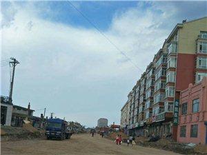 巴彦县2018年6月14日兴隆镇内修路照片