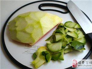 西瓜皮做成下�菜,多吃�赏腼���]吃�^�a