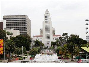 蓝天人在美国高科城洛杉矶
