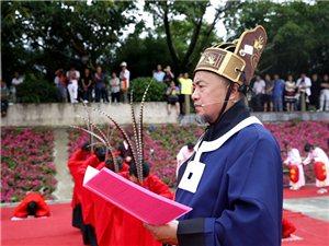 6月18日(端午节)上午,端午节祭祀活动在广汉鸭子河边�5拦愠【傩�