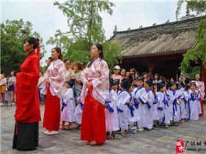 【传承中华文化,开启智慧之门】广汉爱弥儿幼儿园开笔礼仪式在文庙举行