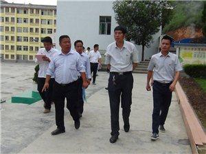 从江县往洞镇喜迎省人民政府督导评估验收组对义务均衡发展工作进行评