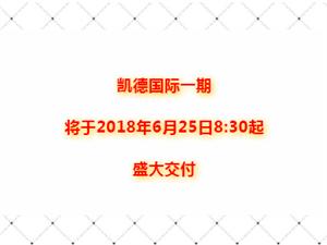 【凯德玖号院】凯德国际积极进行一期交房前自查验收工作!!!