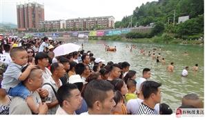 2018年5月端午节贵州省松桃苗族自治县拔龙船抢鸭子火暴现场视与您分享