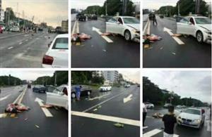 视频丨今日遂宁两女子被宝马撞