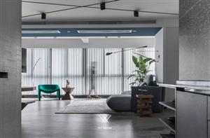阳台与客厅打通一体化,这是我看到最喜欢的设计风格!