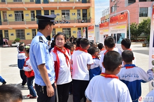 清水县公安局城关派出所 开展禁毒、禁赌宣传教育进校园活动