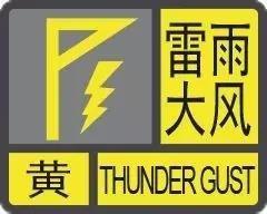 刚刚!市气象台发布雷雨大风黄色预警,将出现雷电、大风、短时强降水...