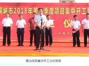 桐城集中开工19个项目,总投资25.59亿元!
