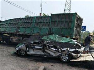 唐县昨日发生两起车祸......