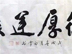 【书法人物】白雪书法艺术简介(附作品鉴赏)