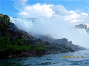 83岁游美国――-2尼亚加拉大瀑布(组图)