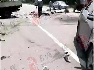 【安全提示】事故两起:一起电动车女子被送往医院,一起四人受伤一人死亡