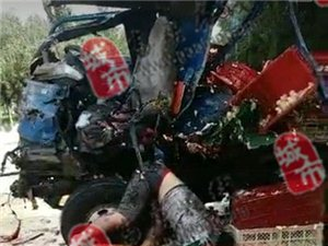【刚刚发生】高唐:105国道梁村路段发生一起严重车祸,一人当场死亡。