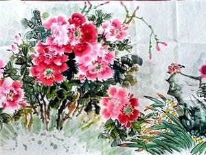 6月26日上午,广汉市九江书画院在三水景和苑举办暑假散学典礼(组图)