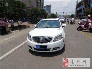 遂川:女子�T��榆��M穿�R路被撞��,交警判其主要�任