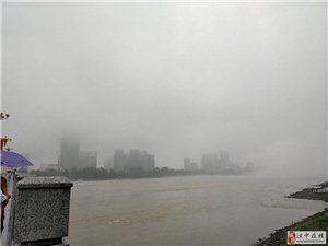 汉江江上雾