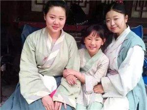 厉害了!洋县八岁小姑娘已成横店小明星