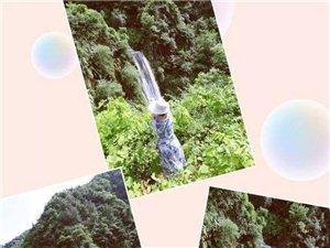 最美的瀑布在�@里,很多本地人都�]去�^!