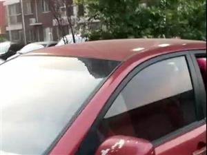 澳门大小点网址这车主心也忒大!只关了前面两个车窗就锁车走人了!