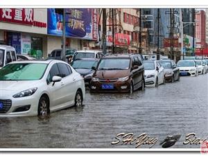下雨给人们生活带来的不便