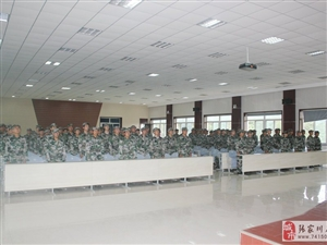 张家川县组织民兵应急力量开展基地化军事训练