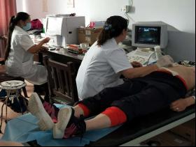 宝绍岱苏木中心卫生院开展免费体检活动