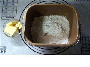 【�子�t豆一口酥】用淡奶油制作的酥皮,充�M了奶香味