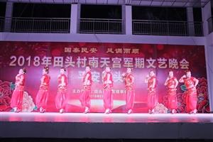 嘉积镇田头村2018年南天公民俗文化节文艺晚会