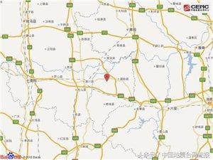 快�!����,商城周��l生3.6�左右地震,震源深度9000米!