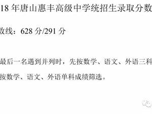 速来围观!澳门番摊游戏网址一中、惠丰高中录取分数线公布!