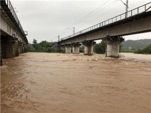 注意|暴雨橙色预警,江油周边多处涨水 塌方!