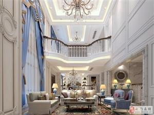 偌大的别墅需要精致的装修来陪衬