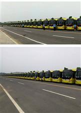 舞钢将更新换代100辆公交车,全新纯电动公交车集体亮相产业集聚区,即将投入使用,祝愿舞钢越来越美