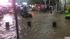 昨日金沙国际娱乐官网暴雨,看海锦集!
