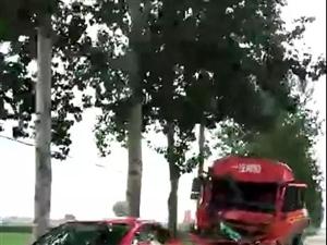车祸凶猛|林西交通事故,大货车都变形了!