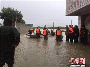 【转帖】中国新闻网――四川广汉遭特大暴雨袭击,多处房屋被淹道路冲毁