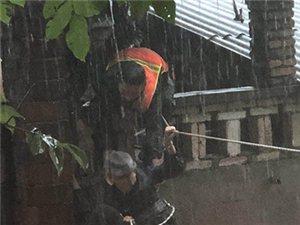 四川新闻网――广汉消防员带病泡在水中救援,一天辗转多地救出上百名群众