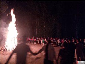 每周六篝火晚会在森淼乐园