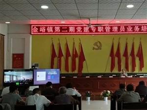 合阳县金峪镇成功举办第二期党建专职管理员培训班