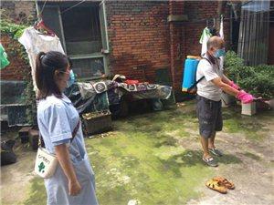 7月14日,广汉九江路社区防汛救灾安全隐患排查及灾后防疫情况(图片)