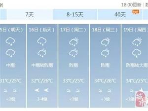 新台风即将生成,还一次两个?未来几天,化州将有雷雨+短时大风!