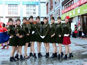 茶城广场舞比赛花絮